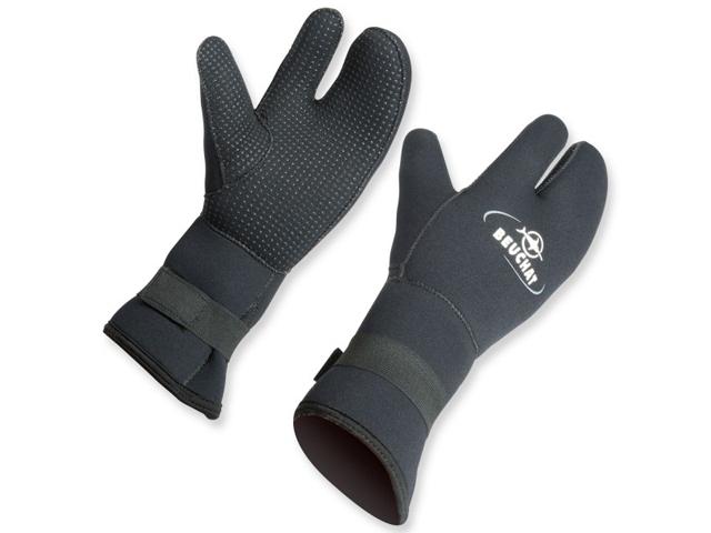BEUCHAT 3-Finger 7mm Neoprenhandschuhe für kalte Wassertemperaturen