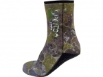 Socks Spetton Med Camo Green 3 mm.